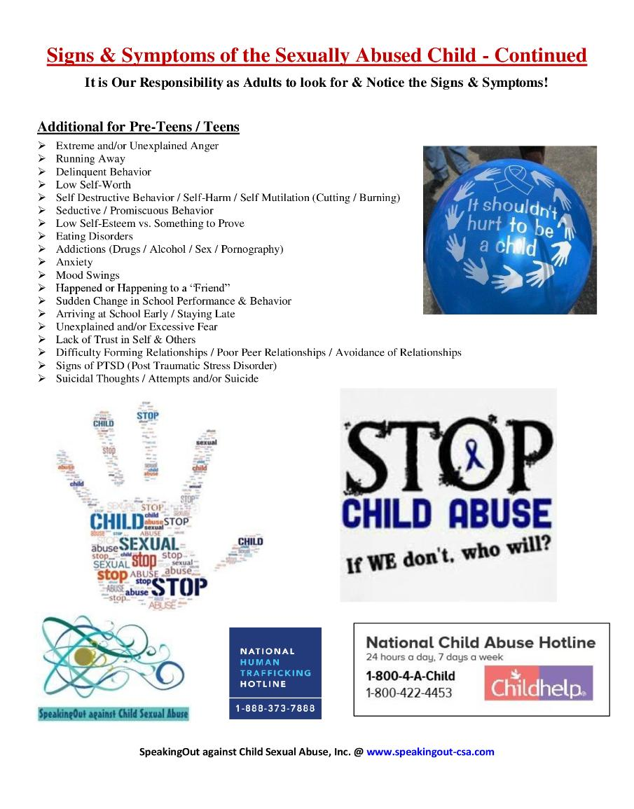 Signs of sexual abuse in toddlers images 78
